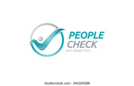 People Check Logo
