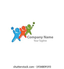people comunity logo,for comunity people and busines logo simple modern.EPS 10