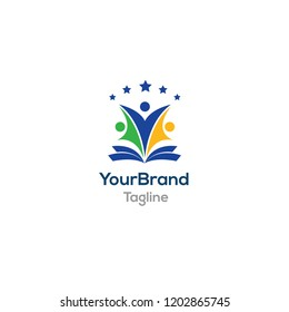 People Education logo template