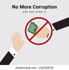 People or eligible voter say no and stop receive money from anyone for election dealing or commission for anti-corruption