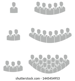 people group icon vector symbol