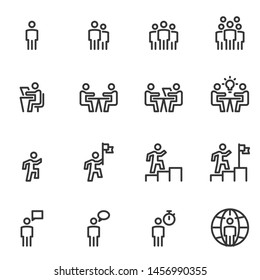 People Icon Business Vector Illustration