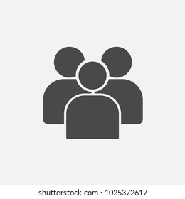 people icon humans male and female for business websites and projects