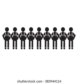 People Icon Illustration design
