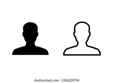 people icon set. person icon vector. User Icon vector