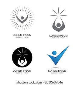 People Icon work group Vector illustration design