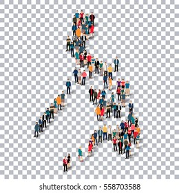 people map country Philippines vector