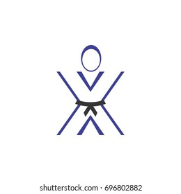 people martial art logo