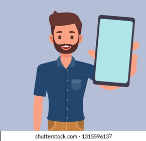 people playing smartphone character vector design