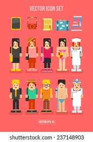 People Profession and Hobby Flat Icon