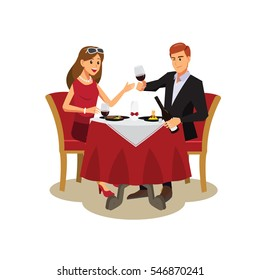 People in restaurant  dinner