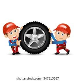 People Set - Profession - Mechanic