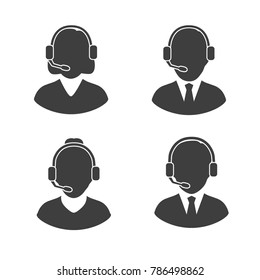 People silhouette Icons