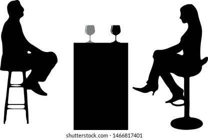 Brilliant 1000 People Sitting Stool Silhouette Stock Images Photos Uwap Interior Chair Design Uwaporg