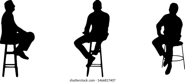 People  sitting on chair at bar counter
