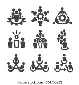 people with society,people with organization,population icon set,vector illustration