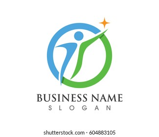 people success business health logo