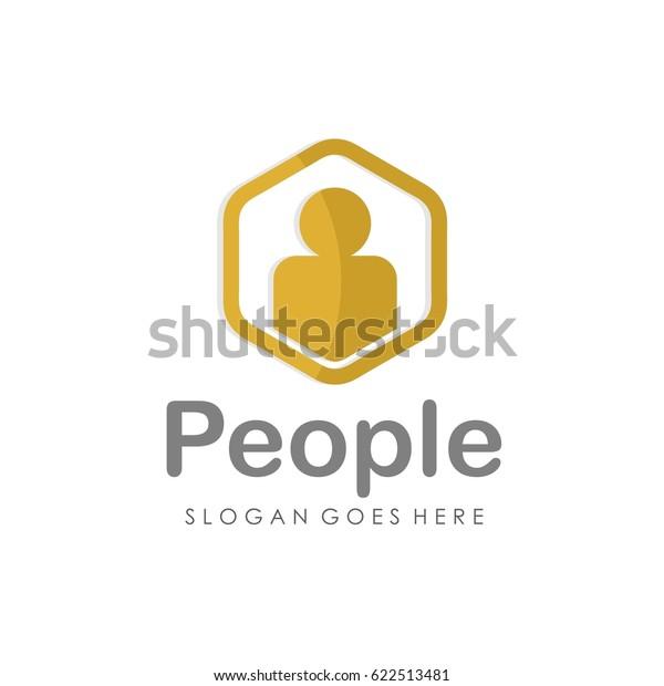 People Unity Logo Vector Stock Vector (Royalty Free) 622513481