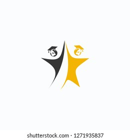 people vector, leave logo