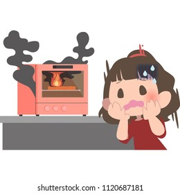 People who will panic because the oven burned