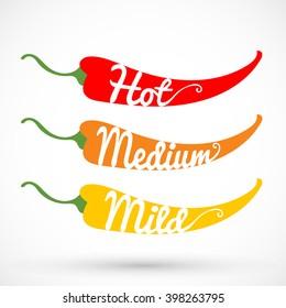Pepper chilli vector illustration