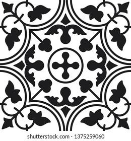 Peranakan Tile Pattern