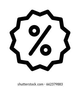 percent discount sticker