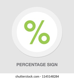 percentage diagrams, percentage sign symbol icon. user interface (UI) or infographic