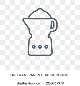 percolator icon. percolator design concept from Electronic devices collection. Simple element vector illustration on transparent background.