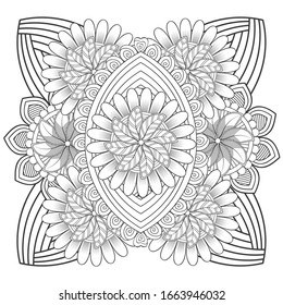 Psychedelic Coloring Pages High Res Stock Images Shutterstock