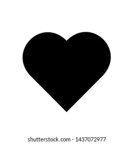 Perfect Love symbol. Heart icon page symbol for your web site design Heart icon logo.