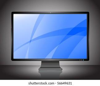 Perfect vector plasma LCD HDTV display