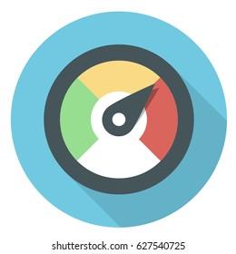 perfomance flat icon