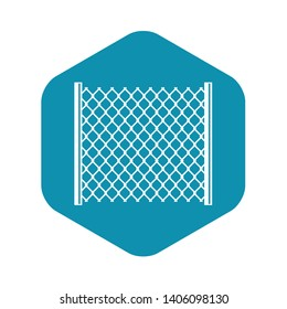 Perforated gate icon. Simple illustration of perforated gate vector icon for web