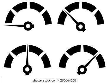 Performance Icon Set - Illustration
