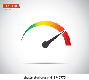 Performance measurement. Icon Vector, logo illustration