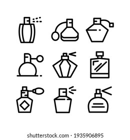 perfume icon or logo isolated sign symbol vector illustration - Collection of high quality black style vector icons