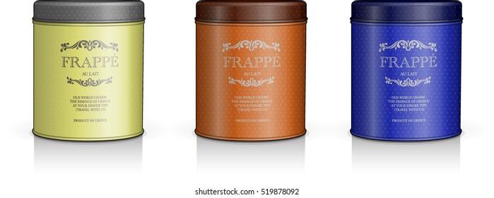 perfume makeup packaging vector illustration