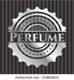 Perfume silver badge