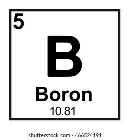 Periodic table element boron stock vector royalty free 466524191 the periodic table element boron urtaz Images