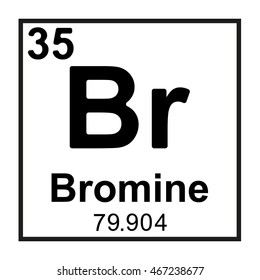 Bromine Periodic Table Images Stock Photos Vectors