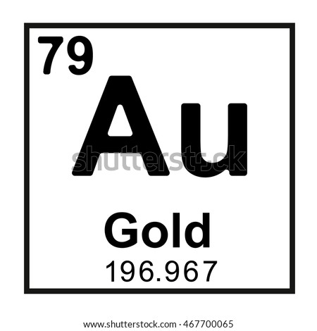 Periodic table element gold stock vector royalty free 467700065 periodic table element gold urtaz Choice Image