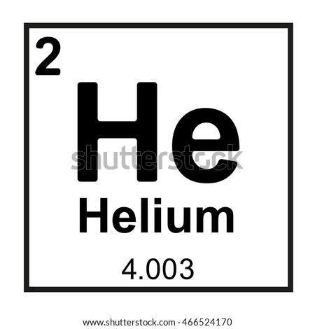 periodic table element helium stock vector royalty free 466524170