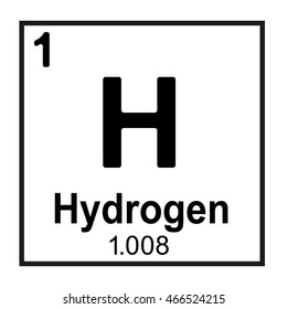 Periodic table element hydrogen stock vector royalty free the periodic table element hydrogen urtaz Choice Image
