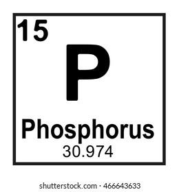 Periodic table element  Phosphorus
