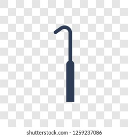 Periodontal scaler icon. Trendy Periodontal scaler logo concept on transparent background from Dentist collection