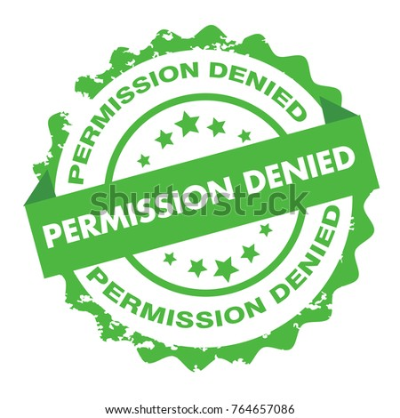 Permission Denied