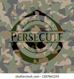 Persecute camo emblem