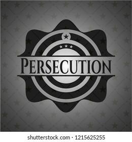 Persecution dark icon or emblem