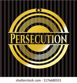 Persecution gold shiny emblem